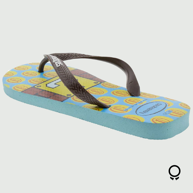 ZAPATILLA HAVAIANA MARIO BROS ICE BLUE