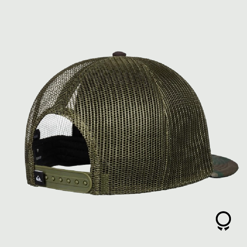 GORRA  QUIKSILVER PAST CHECKER CAMO