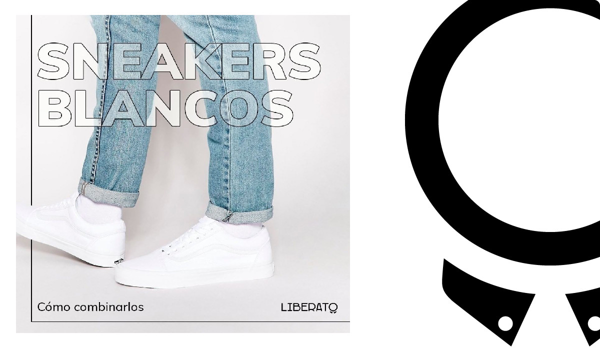 ¿Cómo combinar sneakers blancos?