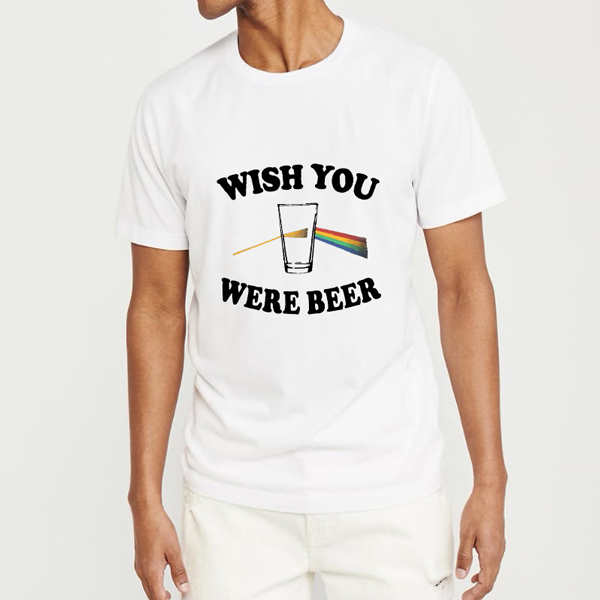 REMERA FIJI BLANCA ESTAMPA BEER