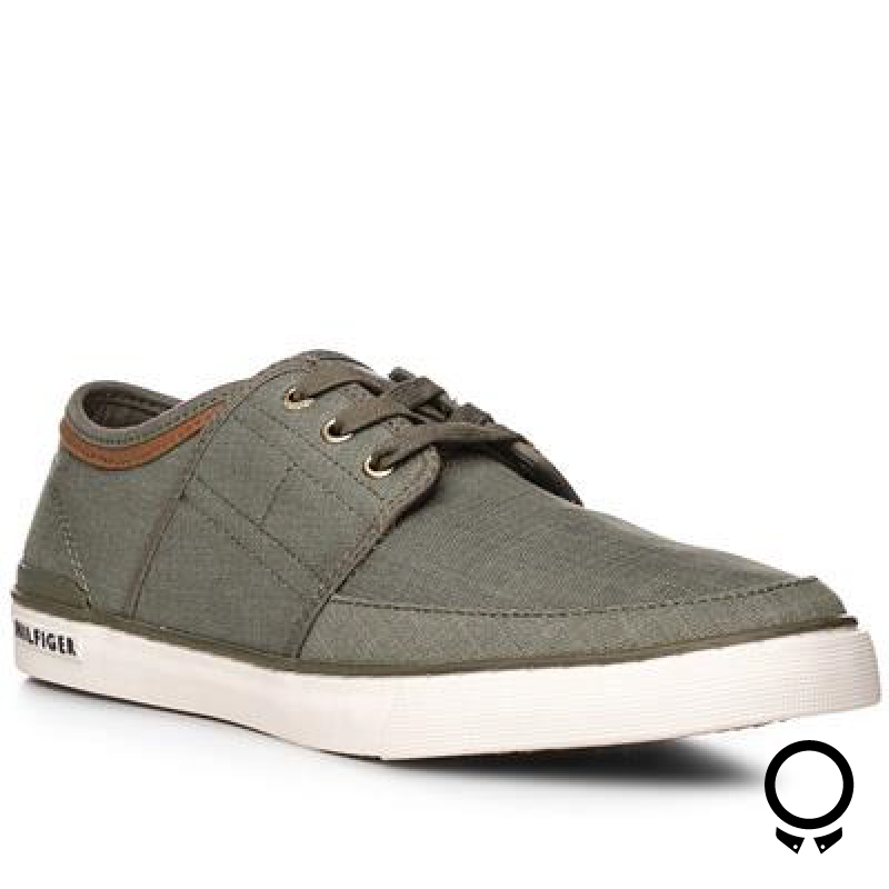 ZAPATO TOMMY HILFIGER CORE SEANSOAL DUSTY OLIVE