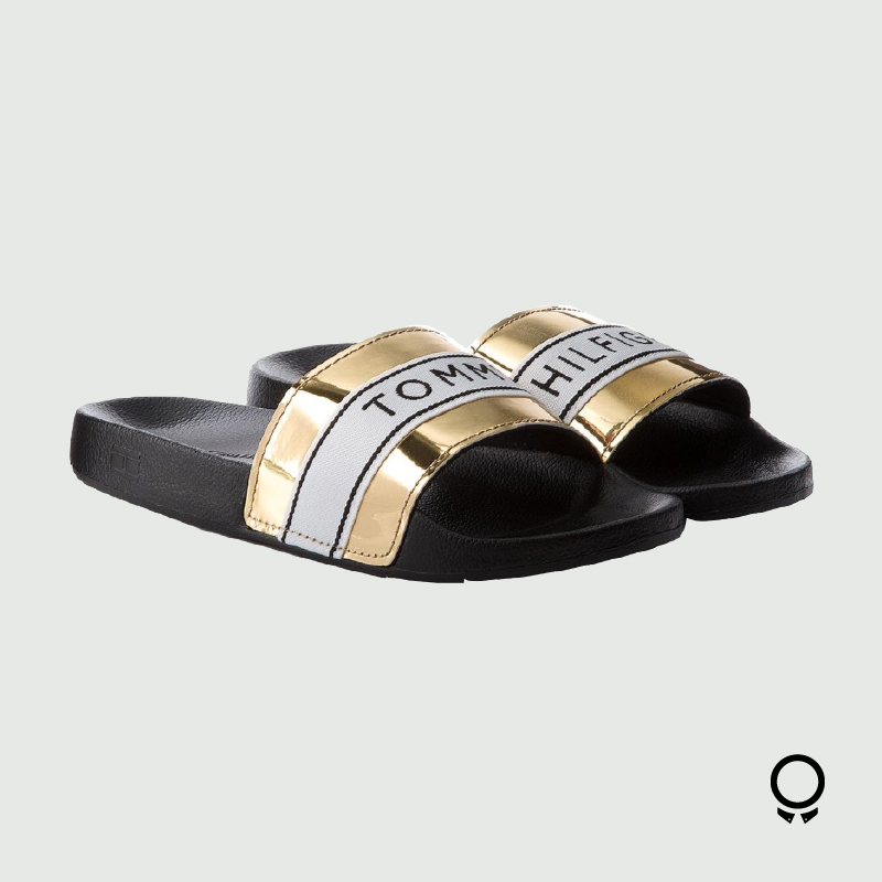 ZAPATILLA TOMMY HILFIGER MIRROR METAL