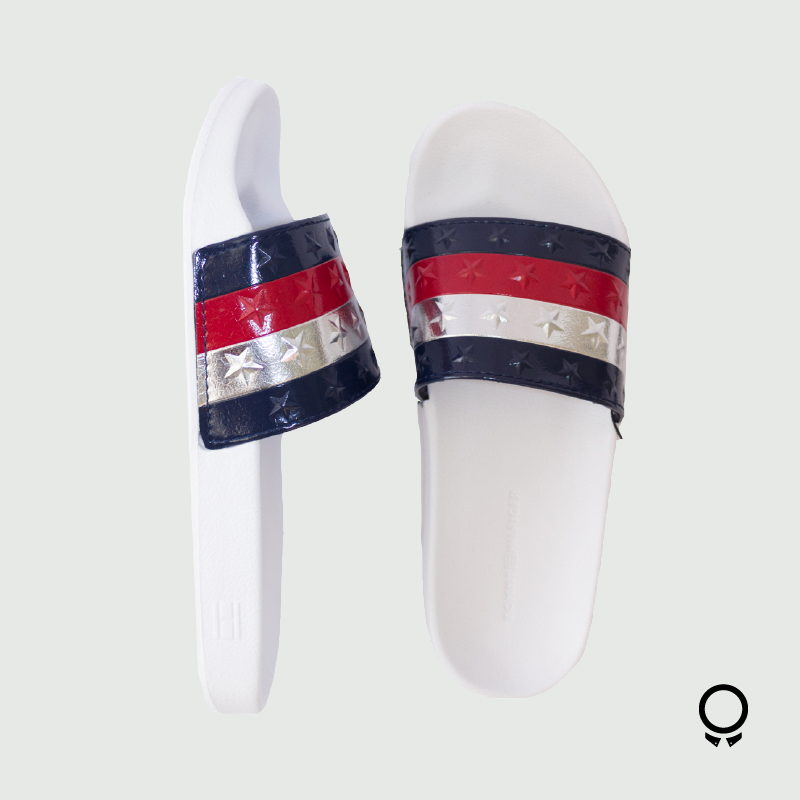 ZAPATILLA TOMMY HILFIGER POOLSIDE WHITE