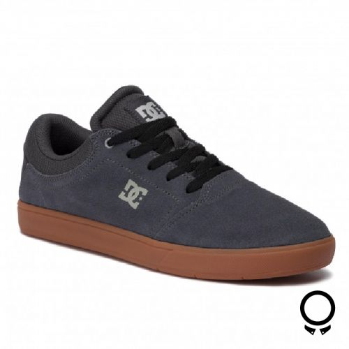 Zapato Dc Crisi M Shoe Chr Gris Oscuro