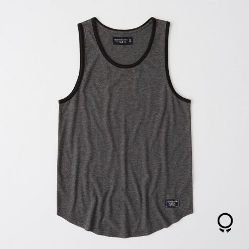 Camisilla Abercrombie Gris Oscuro