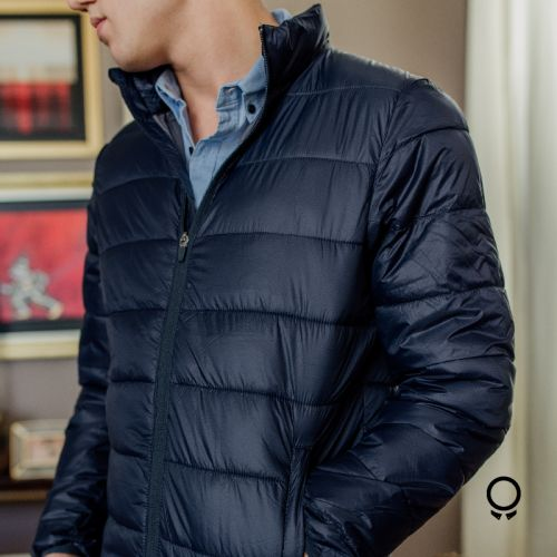 Campera Lbb Puff Style 1 Navy