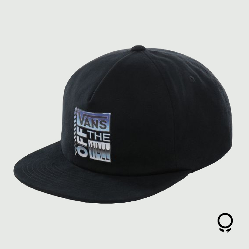 CAP VANS SHALLOW UNSTRUCTURED NEGRO